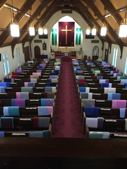 Blessing of the quilts 9-4-16