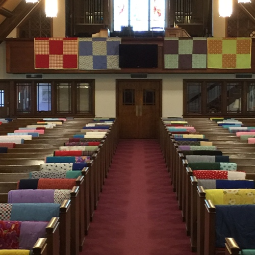 Blessing of the quilts (2)